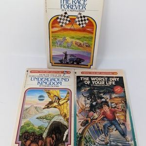 Vintage Choose Your Own Adventure Books